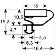 9703 - GARNITURA USA FRIGIDER AFINOX