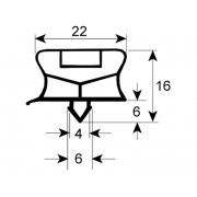 GARNITURA MAGNETICA USA FRIGIDER ELECTROLUX